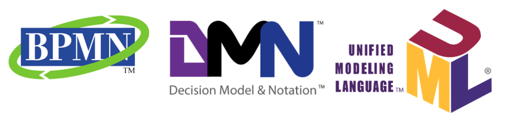Logos-DMN-BPMN-UML